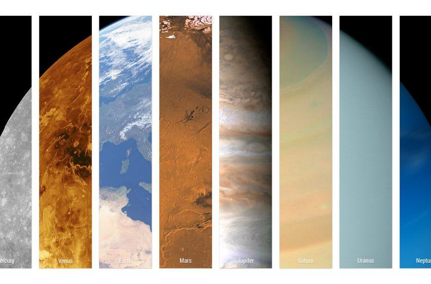 Sistema Solare in un Solo Pianeta