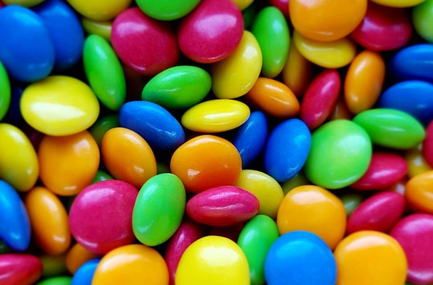 Smarties Caramelle Colorate