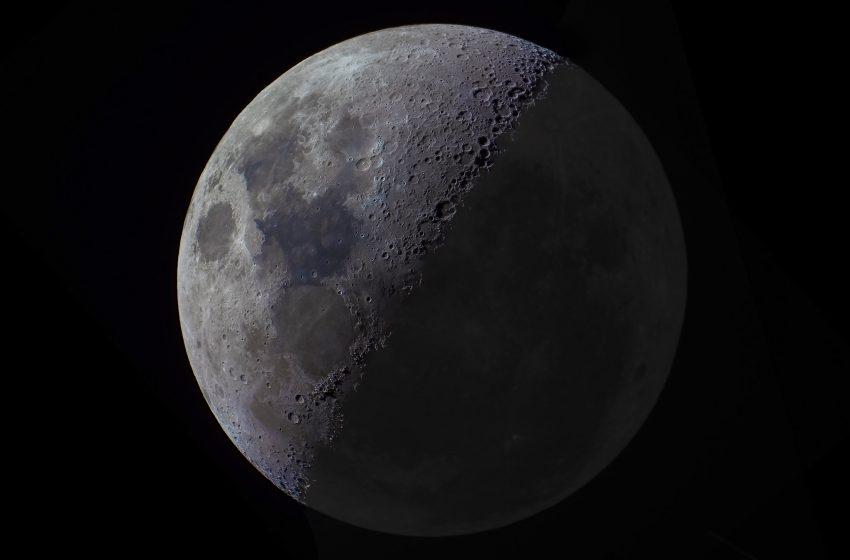 Luna in tutto il suo splendore