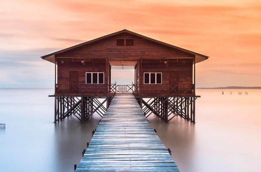 Casa sull'acqua