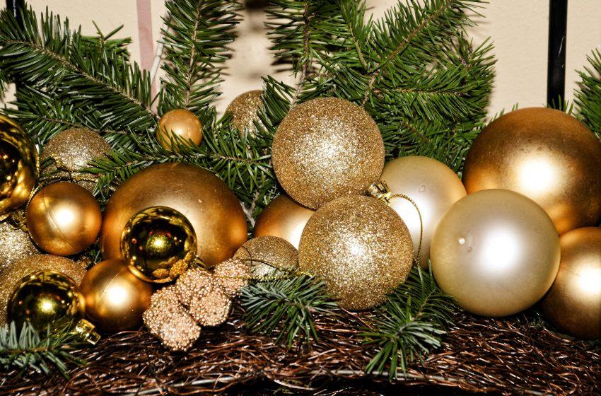 Palle di Natale Color Oro