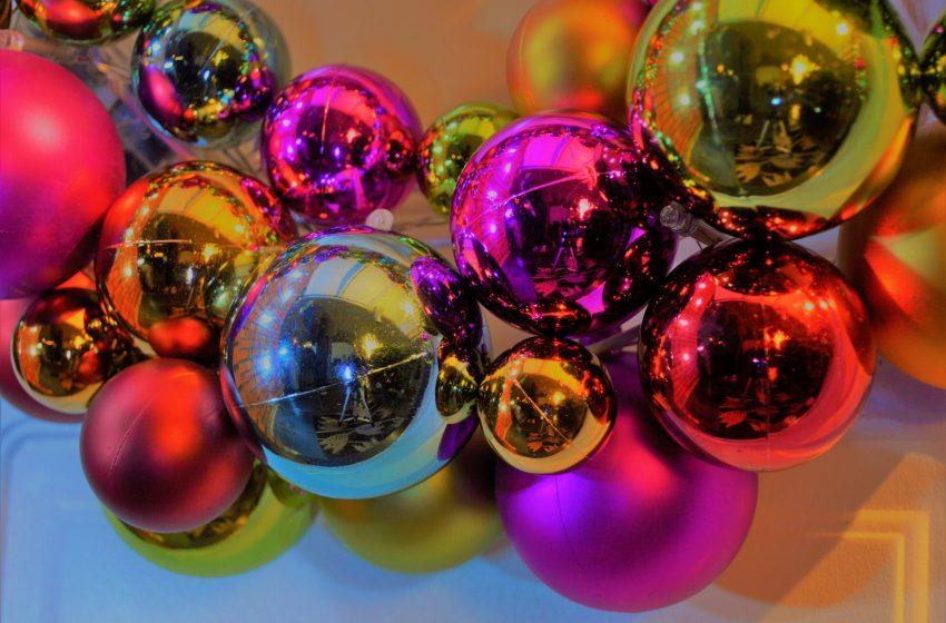 Palle di Natale Luminose