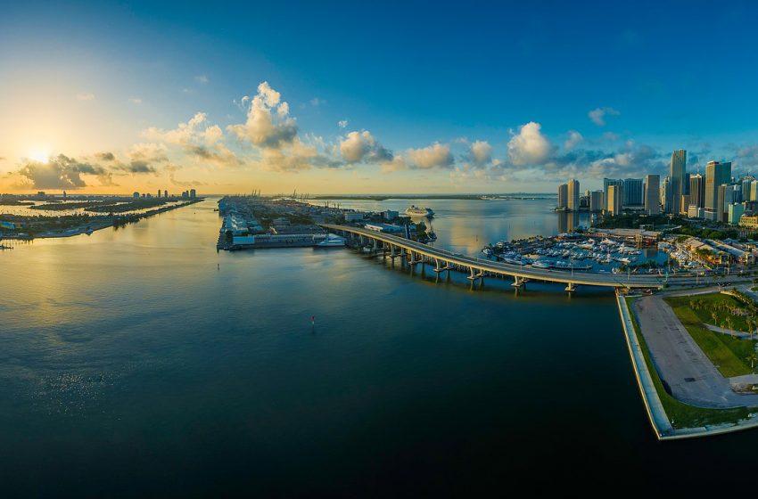 Panoramica della città di Miami