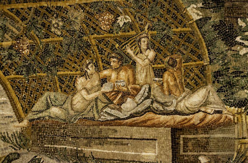 """Porzione de """"Mosaico del Nilo"""""""