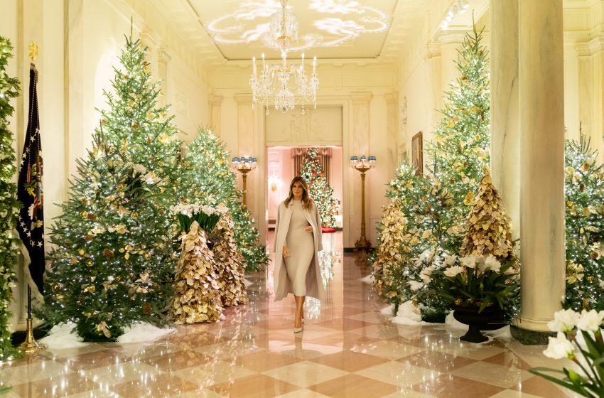 Addobbi Natalizi alla Casa Bianca