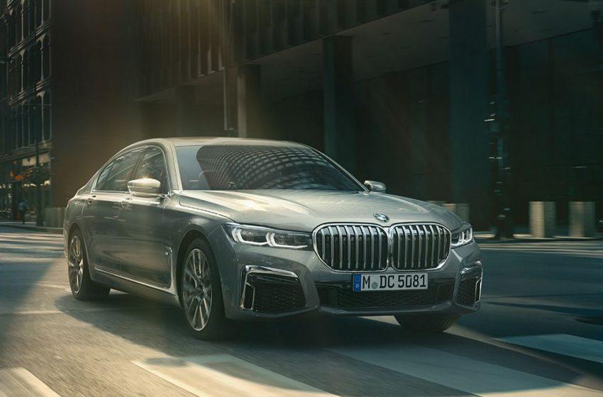 BMW Serie 7 Berlina in Città