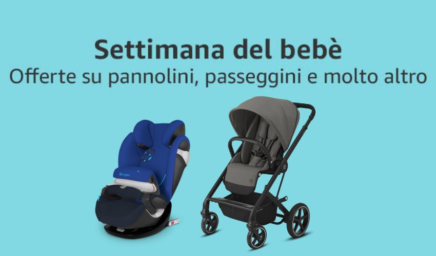 Amazon Baby Week – Una settimana di offerte