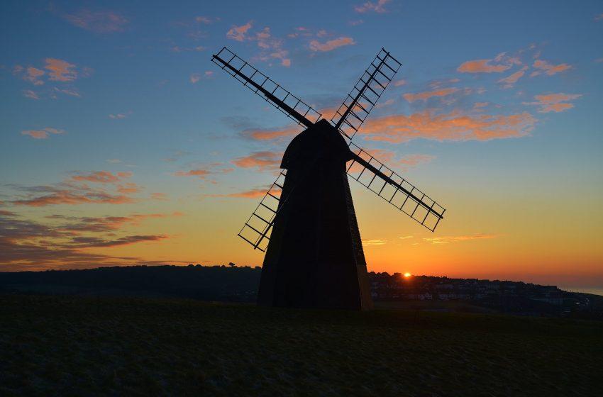 Mulino al tramonto