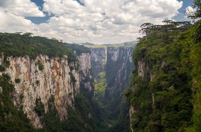 Canyon in Brasile