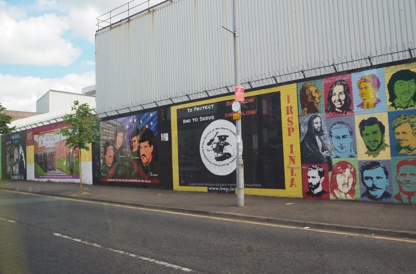 Murales in Irlanda