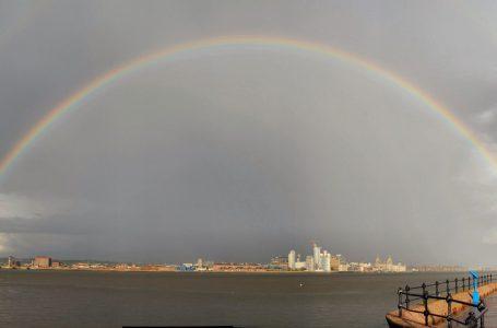Arcobaleno a Liverpool