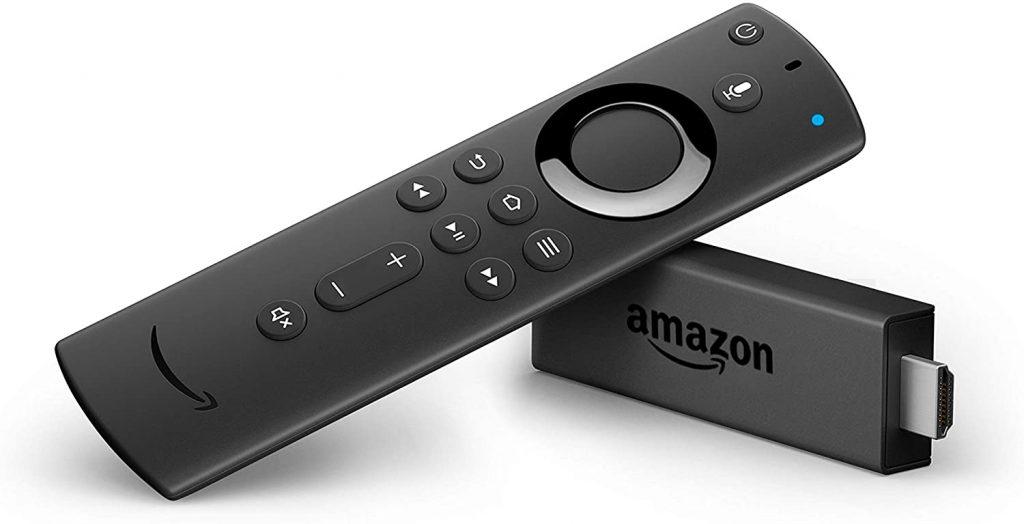 amazon Fire TV Stick con telecomando vocale